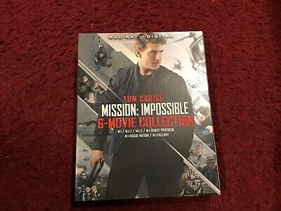 Mission Impossible 6-Movie Collection Blu Ray / Digital