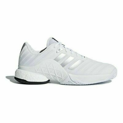 New adidas Barricade 2018 Boost Men Whitesilver Db1570 Tennis