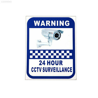 Sticker Pack Small Stickers CCTV Decal Sign Monitoring Warning Signs Security