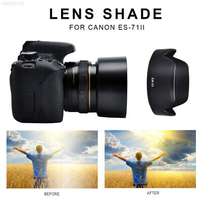 Compact Black Lens Shade Lens Hood Photography Camera Accessories Replacement