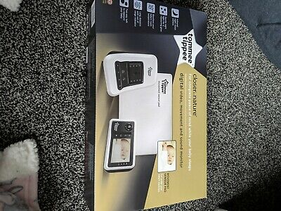 Tommee Tippee Digital Video Movement & Sound Baby Monitor - Brand New