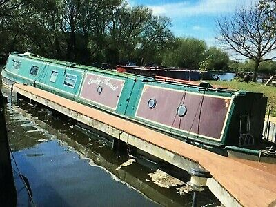"NARROWBOAT ""EMILY MAUD"" 60ft TRAD STERN"