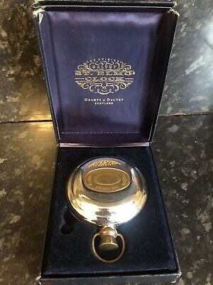 The Dalvey St. Elmo Clock  Grants of Dalvey. made in Scotland. Pocket watch type