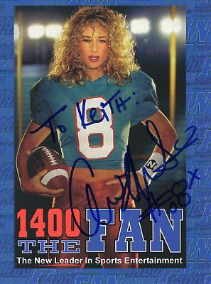 Unknown Autograph - Usa Radio Station For Sports