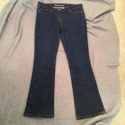 Next Ultimate Bootcut Ladies Size 12R Blue Stretch  Jeans. MR7632