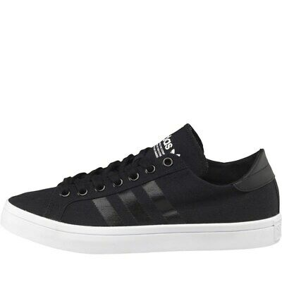 MENS ADIDAS ORIGINALS Court Vantage Mid Leather Trainers