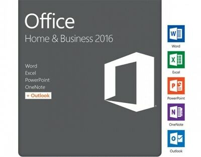 MS Microsoft Office 2016 Home and Business für MAC / mit Key zur Aktivierung