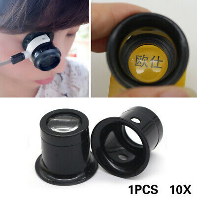 Durable 10x Magnifying Lens Loupe Instrument Microscope Watch Jewelry Repair