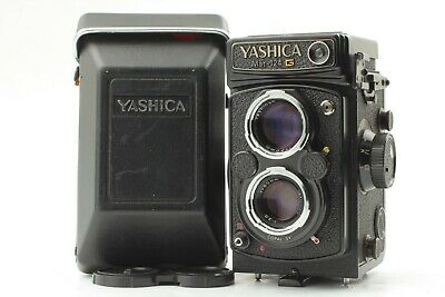 【MINT】Yashica Mat 124G 6x6 TLR Medium Format+80mm f/3.5 from Japan 989