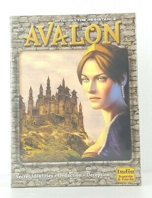 The Resistance Avalon Social Deduction Party Strategy Indie Boards and Cards NEW