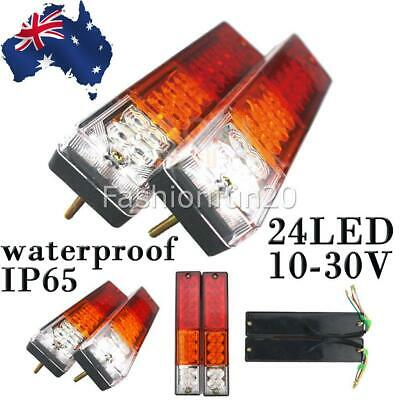 Trailer Lights 20Led Stop Tail Indicator Reflector Truck Camper Light 10-30V Aus