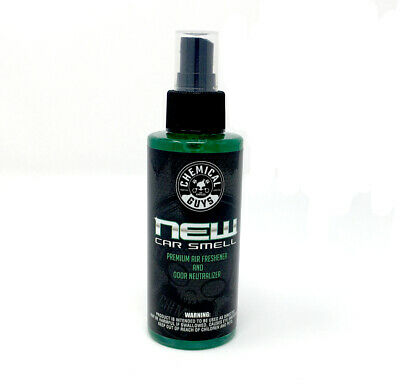Chemical Guys New Car Scent Enzyme Air Freshener 4oz 120ml Car Wash Detailling