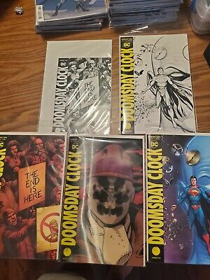Doomsday Clock 1-9, 11 Set DC Comics with Variants