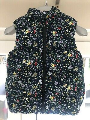 Girls NEXT Floral Gilet 3-4 Years