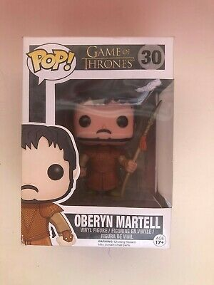 Funko POP Game of Thrones Oberyn Martell Vinyl Figure New in Box #30