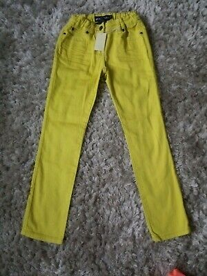 Mini Boden Boys Yellow Jeans Size 9 Years