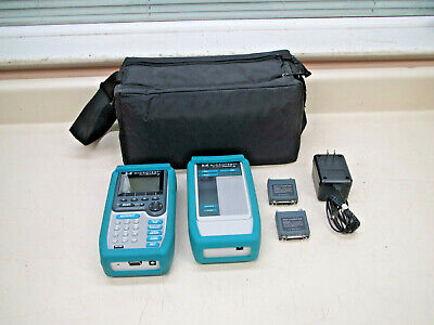Fluke Microtest Pentascanner + & 2 Way Injector Cable Tester / Verifier Used #2