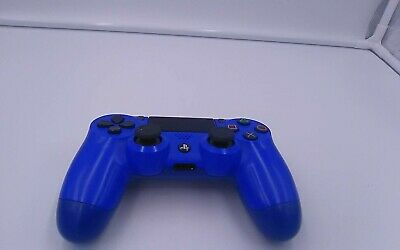 Official Sony Playstation 4 PS4 Blue Controller V2 Sticky Options Button