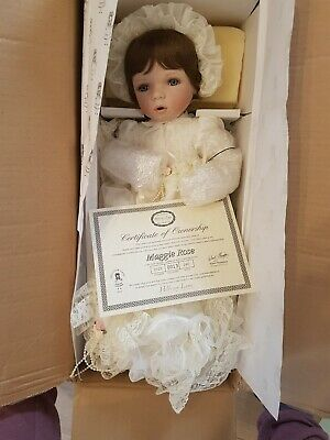 hillview lane porcelain doll Maggie Rose