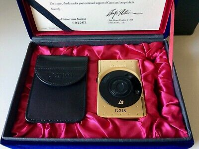 Canon IXUS IX240 GOLD LIMITED EDITION 60th ANNIVERSARIO