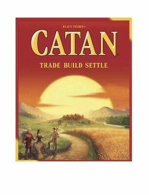 Catan CN3071 Standard Board Game New in Box Strategy Trade Build Settle Teuber's