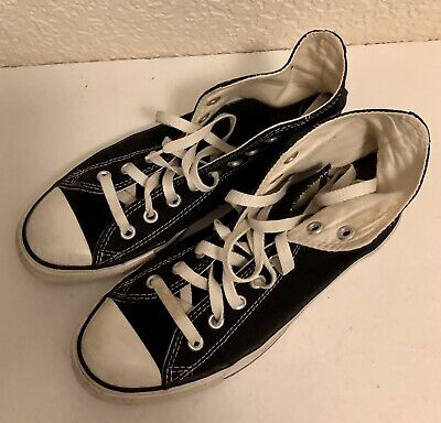Converse All Star Black Hi Tops Size 7. Good Condition
