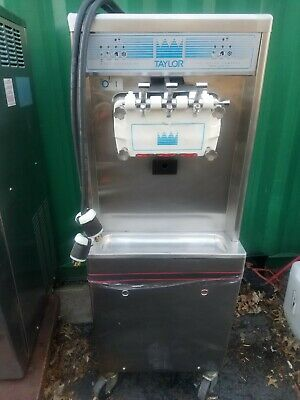 Taylor Commercial Used Three Head Soft Serve Ice Cream Machine Model 794-27