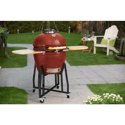 Red Kamado Charcoal Hd Series Vision Grill smoker Ceramic stainless professional