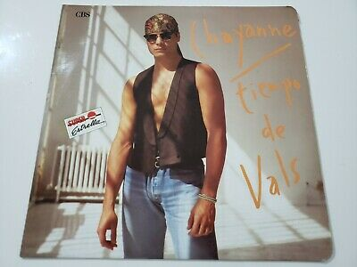Chayanne ‎– Tiempo De Vals LP Colombian Press 1990 CBS Luis Miguel