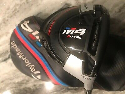TaylorMade M4 D-Type 10.5 Degree Driver - RH Tensei 60 Stiff Shaft - MINT