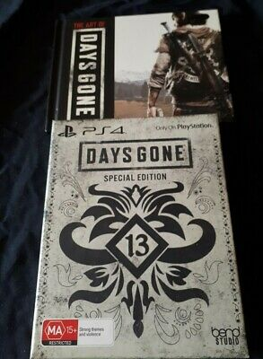 Days Gone PS4 Special Edition-Box and Book Only