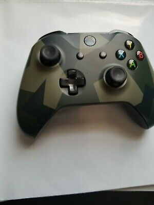 Microsoft Xbox One Wireless Controller Armed Forces II Special Edition (WL3-000…