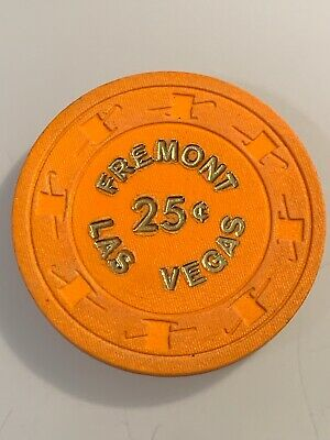 FREMONT $.25 Casino Chips Las Vegas Nevada 3.99 Shipping