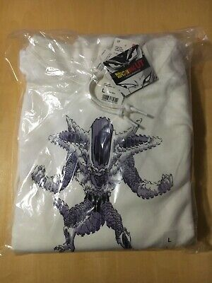 Dragon Ball Z Uniqlo Frieza Hoodie Hooded Sweatshirt Size Large Brand New