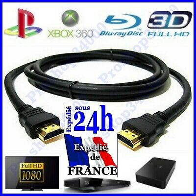 CABLE HDMI 1.4 OR FULL HD 3D BLU RAY PS3 XBOX LCD PLASMA 1920x1080P 1.5 2 3 5 M