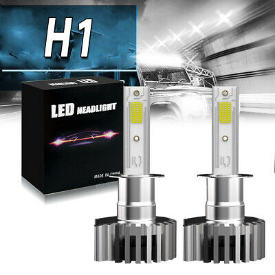 Bevinsee H1 LED Headlight Bulb For Jaguar X-Type 03-08 XK8 00-05 XKR 01-04 06
