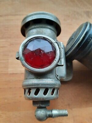 Joseph Lucas Birmingham N°344 motorcycle Bicycle Rear Lamp Antique