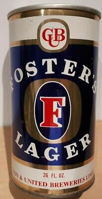 Vintage FOSTER'S LAGER 26 fl oz BEER CAN  Air Sealed