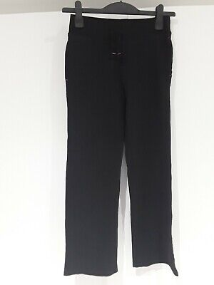 Girls Black Jogging Bottoms Age 12 To 13 Years GEORGE