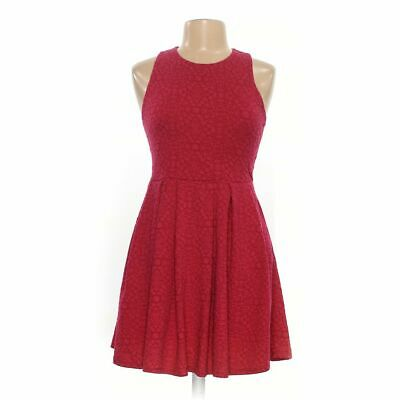 SO Girls Dress size JR 11,  red, maroon,  polyester, spandex