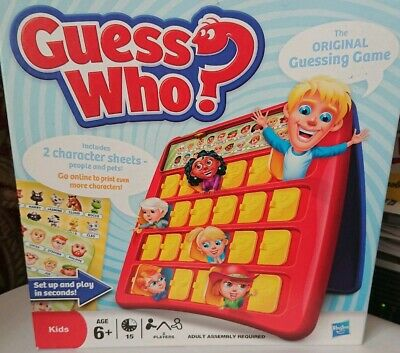 Hasbro Guess Who The Original Guessing Game 2009