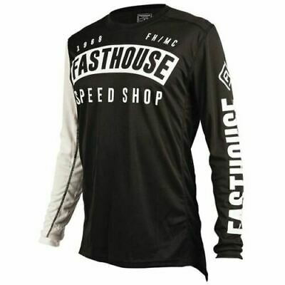 Fasthouse Block Youth Motocross Jersey Mx Enduro Quad Off Road Size Small