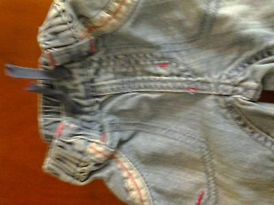 Baby Boys Blue Denim Style Jeans. George. Age 3-6 Months.