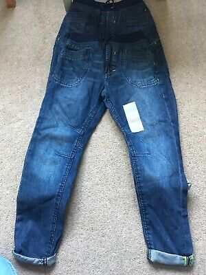 Boys Jeans Age 8-9 Years Twins 2 Pairs