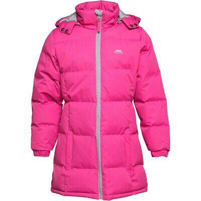 Trespass Tiffy Jacket Bubblegum Pink Age 11-12 Years TD001 PP 01