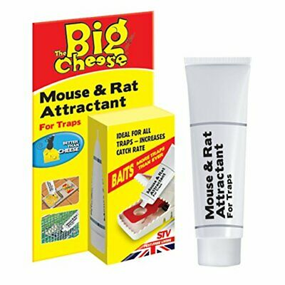 The Big Cheese Mouse and Rat Attractant Natural, Poison-Free Bait, Attracts Rod