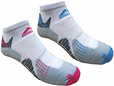 Womens 2 PAIR PACK More Mile cushioned SAN DIEGO Ladies running sock