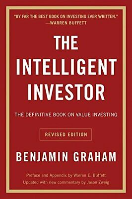 Intelligent Investor The Definitive Book on Value Investing - A Book of Practic