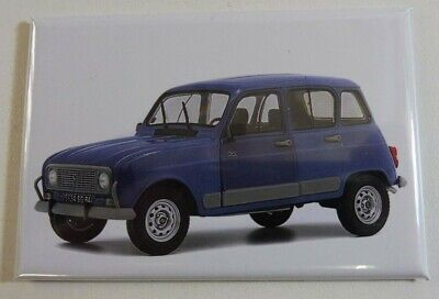 SUPERBE Magnet Aimant RENAULT 4 Service Long 78 mm Haut 54 mm Neuf