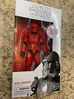 *NEW - STAR WARS BLACK Series RED SITH TROOPER 6in Figure Rise of Skywalker